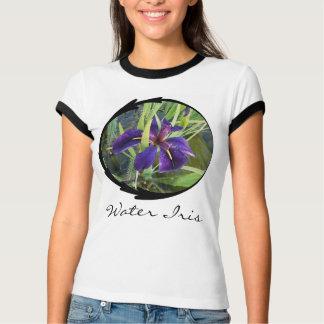 Purple Water Iris T Shirt