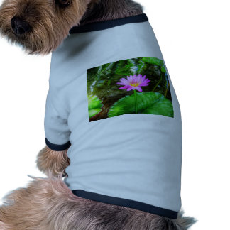 Purple Water Lily Doggie T-shirt