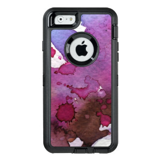 Purple Watercolor Background OtterBox iPhone 6/6s Case