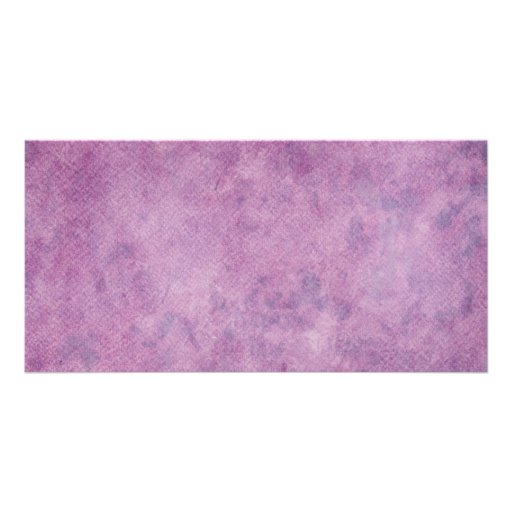 Purple Watercolor Paper Background Template Blank Personalized Photo Card