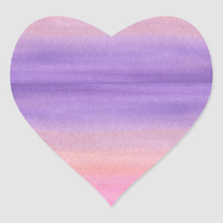 Purple Watercolor Sticker