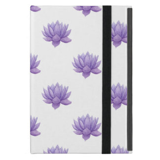 Purple Watercolor Succulent Case iPad Mini Case