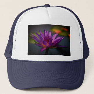 Purple Waterlily Hat