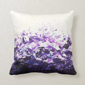 Purple Wave Cushion