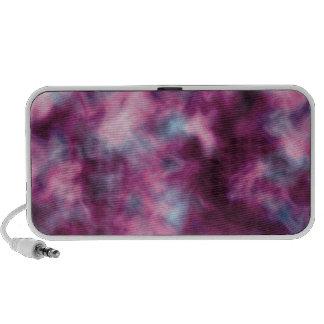 Purple Wave Doodle iPhone Speakers