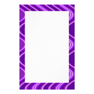 purple wave stationery