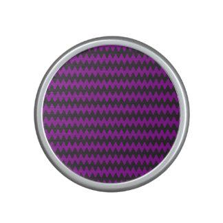 Purple Waves Bluetooth Speaker
