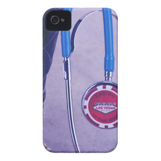 Purple Western Boot Doctor Gambling Stethoscope iPhone 4 Covers