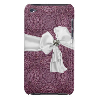 Purple, White and Gemstone iPod Touch Case