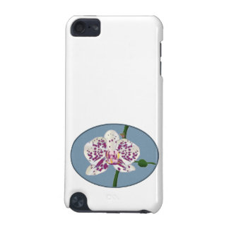 Purple & White Spotted Phalaenopsis Orchid iPod Touch 5G Covers