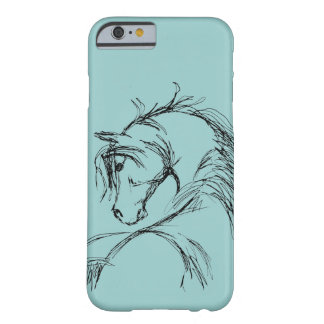 Purple Wild Horses Barely There iPhone 6 Case