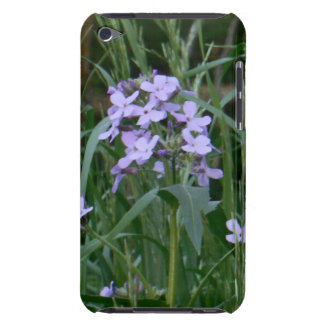 Purple Wildflower iPod Touch 4G Case Barely There iPod Case