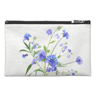 Purple Wildflowers Asthma Gear Bag Travel Accessories Bag