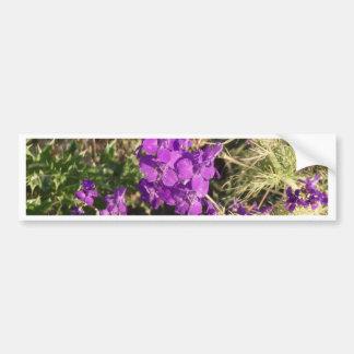 Purple Wildflowers Bumper Stickers