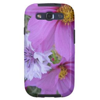 purple wildflowers galaxy SIII cases