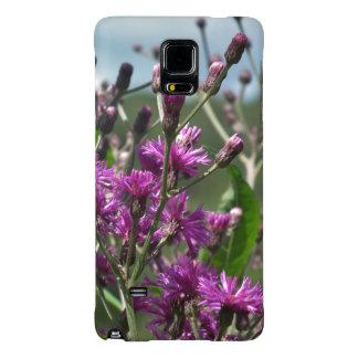 Purple Wildflowers Galaxy Note 4 Case