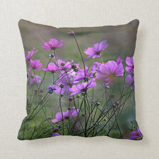 Purple Windflowers Cushion Covers