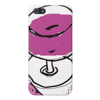PURPLE WINE SKETCH by jill Covers For iPhone 5