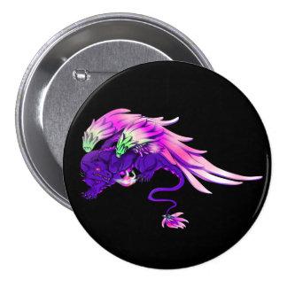 Purple Winged Drake Button