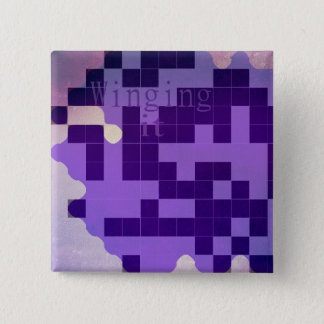 Purple winging it badge