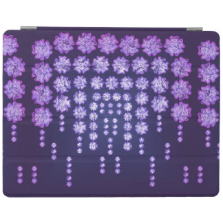 Purple Wisteria Flower Garden Japanese Tree Bold iPad Cover