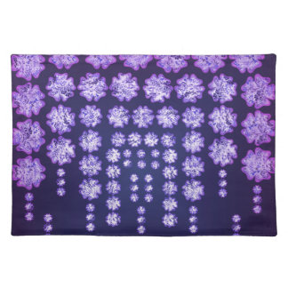 Purple Wisteria Flower Garden Japanese Tree Bold Placemat