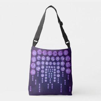 Purple Wisteria Flower Garden Japanese Tree Bold Tote Bag