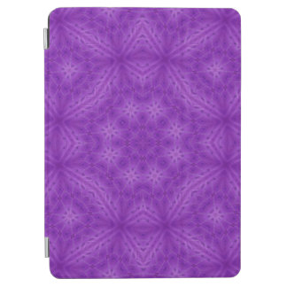 Purple wood abstract pattern iPad air cover