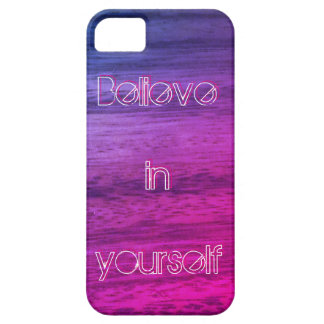 Purple Wood Texture Barely There iPhone 5 Case