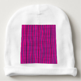 Purple Wooden Grunge Background Baby Beanie