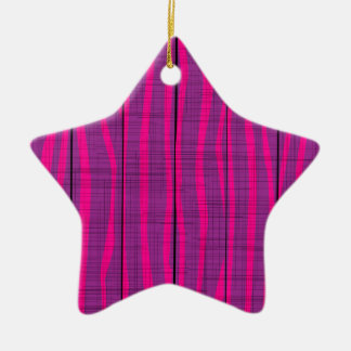 Purple Wooden Grunge Background Christmas Ornament