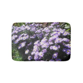 Purple Woods Asters Bath Mat