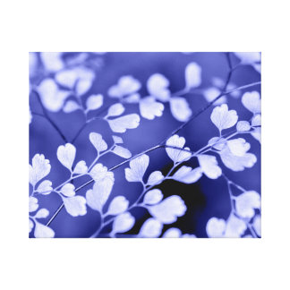 Purple Wrapped Canvas Print
