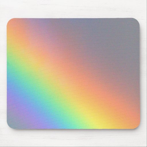 purple yellow blue red rainbow mousepad
