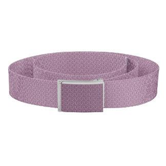 Purple Zebra Pattern Belt