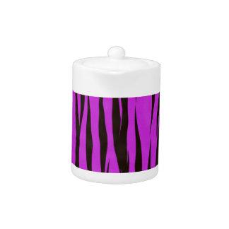 Purple Zebra Print Design