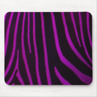Purple Zebra Print Mouse Mat