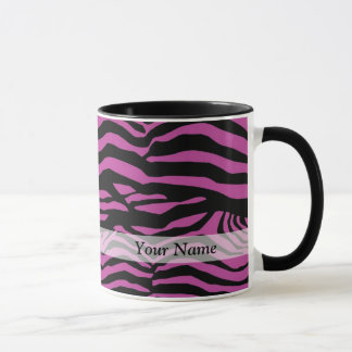 Purple zebra print pattern