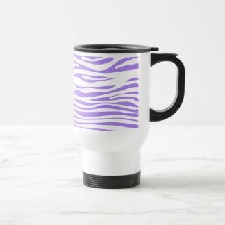 Purple Zebra stripe pattern Coffee Mug