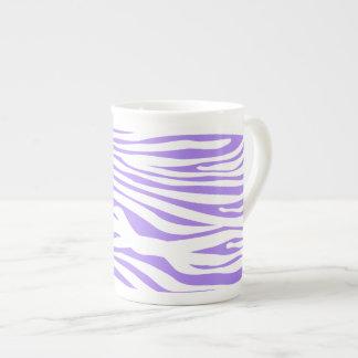 Purple Zebra stripe pattern Porcelain Mug