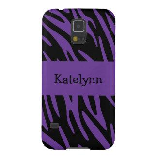 Purple Zebra Stripe Samsung Galaxy Nexus Cover