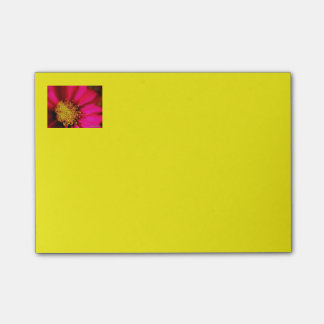 Purple Zinnia Post It Notes
