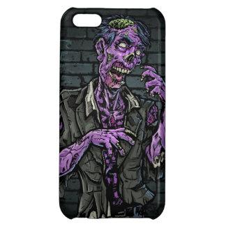 Purple Zombie iPhone 5C Case