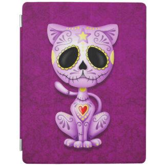 Purple Zombie Sugar Kitten iPad Smart Cover