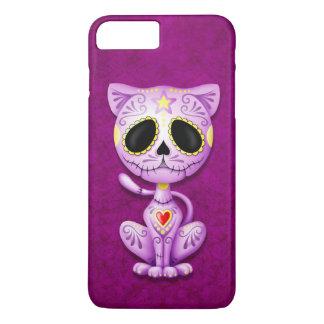 Purple Zombie Sugar Kitten iPhone 8 Plus/7 Plus Case