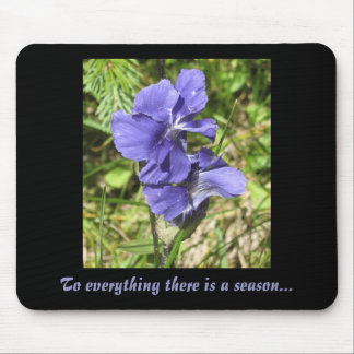 PurpleFlower, To everything there is a season... Mouse Mat