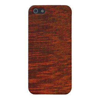 Purpleheart Wood Grain iPhone 5/5S Cases