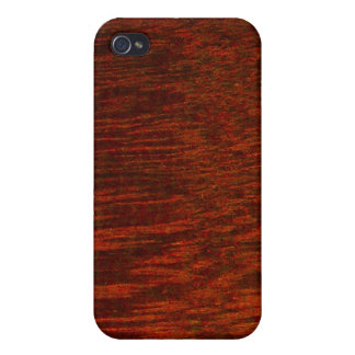 Purpleheart Wood Grain iPhone 4/4S Covers