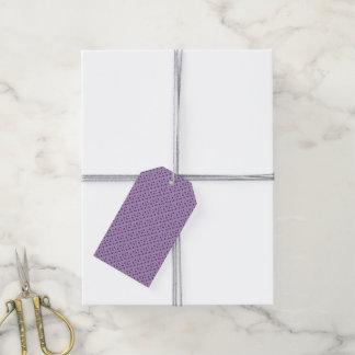 PurplePink Polka Dots Gift Tags