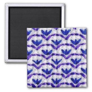 Purplework 1 square magnet